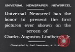 Image of Charles Augustus Lindbergh East Amwell New Jersey USA, 1931, second 8 stock footage video 65675040723