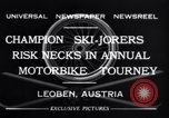 Image of Annual Motorbike Tournament Leoben Austria, 1932, second 6 stock footage video 65675040729