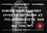 Image of Philanthropist's Bar New York United States USA, 1932, second 1 stock footage video 65675040730