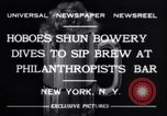 Image of Philanthropist's Bar New York United States USA, 1932, second 3 stock footage video 65675040730