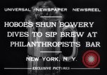 Image of Philanthropist's Bar New York United States USA, 1932, second 4 stock footage video 65675040730