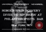 Image of Philanthropist's Bar New York United States USA, 1932, second 5 stock footage video 65675040730