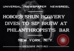 Image of Philanthropist's Bar New York United States USA, 1932, second 7 stock footage video 65675040730