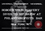 Image of Philanthropist's Bar New York United States USA, 1932, second 8 stock footage video 65675040730