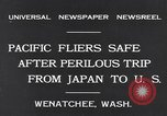 Image of Pacific fliers Wenatchee Washington USA, 1931, second 3 stock footage video 65675040732