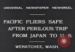 Image of Pacific fliers Wenatchee Washington USA, 1931, second 5 stock footage video 65675040732