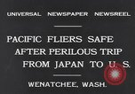 Image of Pacific fliers Wenatchee Washington USA, 1931, second 7 stock footage video 65675040732