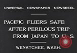 Image of Pacific fliers Wenatchee Washington USA, 1931, second 8 stock footage video 65675040732