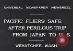 Image of Pacific fliers Wenatchee Washington USA, 1931, second 9 stock footage video 65675040732