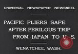 Image of Pacific fliers Wenatchee Washington USA, 1931, second 10 stock footage video 65675040732