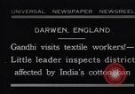 Image of Mohandas Karamchand Gandhi Darwen England, 1931, second 1 stock footage video 65675040736