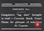 Image of Al Capone Chicago Illinois USA, 1931, second 2 stock footage video 65675040737
