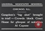 Image of Al Capone Chicago Illinois USA, 1931, second 3 stock footage video 65675040737