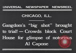 Image of Al Capone Chicago Illinois USA, 1931, second 6 stock footage video 65675040737