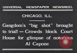 Image of Al Capone Chicago Illinois USA, 1931, second 8 stock footage video 65675040737