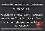 Image of Al Capone Chicago Illinois USA, 1931, second 9 stock footage video 65675040737