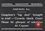 Image of Al Capone Chicago Illinois USA, 1931, second 10 stock footage video 65675040737