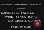 Image of Ray Tauser Paris France, 1931, second 1 stock footage video 65675040739