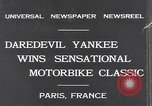 Image of Ray Tauser Paris France, 1931, second 2 stock footage video 65675040739