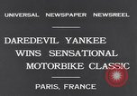 Image of Ray Tauser Paris France, 1931, second 3 stock footage video 65675040739