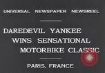 Image of Ray Tauser Paris France, 1931, second 6 stock footage video 65675040739