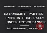 Image of Nazi boy salutes Hitler Bad Harzburg Germany, 1931, second 3 stock footage video 65675040742