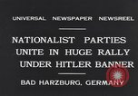 Image of Nazi boy salutes Hitler Bad Harzburg Germany, 1931, second 4 stock footage video 65675040742