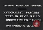 Image of Nazi boy salutes Hitler Bad Harzburg Germany, 1931, second 5 stock footage video 65675040742