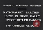 Image of Nazi boy salutes Hitler Bad Harzburg Germany, 1931, second 6 stock footage video 65675040742