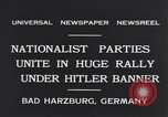 Image of Nazi boy salutes Hitler Bad Harzburg Germany, 1931, second 9 stock footage video 65675040742