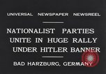 Image of Nazi boy salutes Hitler Bad Harzburg Germany, 1931, second 10 stock footage video 65675040742
