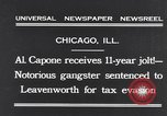 Image of Al Capone Chicago Illinois USA, 1931, second 2 stock footage video 65675040743
