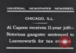 Image of Al Capone Chicago Illinois USA, 1931, second 6 stock footage video 65675040743