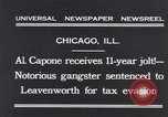 Image of Al Capone Chicago Illinois USA, 1931, second 9 stock footage video 65675040743