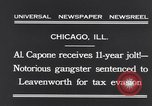 Image of Al Capone Chicago Illinois USA, 1931, second 10 stock footage video 65675040743