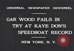 Image of Gar Wood New York United States USA, 1931, second 1 stock footage video 65675040746