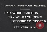 Image of Gar Wood New York United States USA, 1931, second 2 stock footage video 65675040746