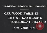 Image of Gar Wood New York United States USA, 1931, second 4 stock footage video 65675040746
