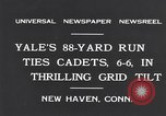Image of Football match New Haven Connecticut USA, 1931, second 9 stock footage video 65675040747