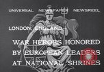 Image of King George V London England United Kingdom, 1932, second 3 stock footage video 65675040748