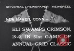 Image of football match New Haven Connecticut USA, 1932, second 9 stock footage video 65675040750