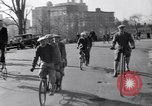 Image of riding bicycles New York United States USA, 1932, second 8 stock footage video 65675040752