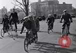 Image of riding bicycles New York City USA, 1932, second 9 stock footage video 65675040752