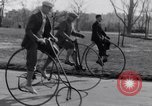 Image of riding bicycles New York City USA, 1932, second 10 stock footage video 65675040752