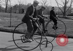 Image of riding bicycles New York City USA, 1932, second 11 stock footage video 65675040752
