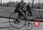 Image of riding bicycles New York United States USA, 1932, second 12 stock footage video 65675040752