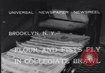 Image of Annual battle Brooklyn New York City USA, 1932, second 2 stock footage video 65675040753