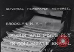 Image of Annual battle Brooklyn New York City USA, 1932, second 4 stock footage video 65675040753