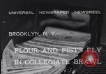 Image of Annual battle Brooklyn New York City USA, 1932, second 7 stock footage video 65675040753