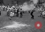 Image of Annual battle Brooklyn New York City USA, 1932, second 10 stock footage video 65675040753